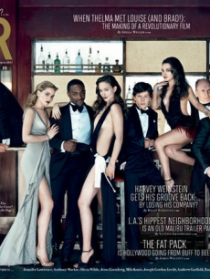Vanity Fair's 2011 Hollywood issue with Ryan Reynolds, Jake Gyllenhaal, Anne Hathaway, James Franco, Jennifer Lawrence, Anthony Mackie, Olivia Wilde, Jesse Eisenberg, Mila Kunis, Robert Duvall, Joseph Gordon-Levitt, Andrew Garfield, Rashida Jones, Garrett Hedlund and Noomi Rapace