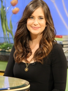 "Former ""Life Goes On"" actress Kellie Martin stops by Access Hollywood Live to talk about her upcoming Hallmark Channel movie, ""Smooch,"" on February 3, 2011"