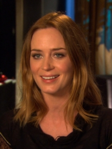 Emily Blunt chats with Access at the junket for &#8220;The Adjustment Bureau&#8221; in NYC on February 11, 2011