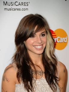 Christina Perri arrives at the 2011 MusiCares Person of the Year Tribute to Barbra Streisand held at the Los Angeles Convention Center on February 11, 2011