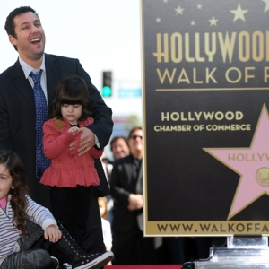 Adam Sandler Nabs A Star On The Walk Of Fame