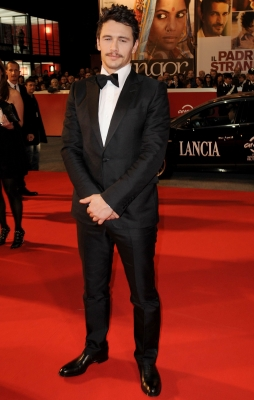 "James Franco attends the ""La Dolce Vita"" premiere during the 5th Rome International Film Festival on October 30, 2010 in Rome, Italy"