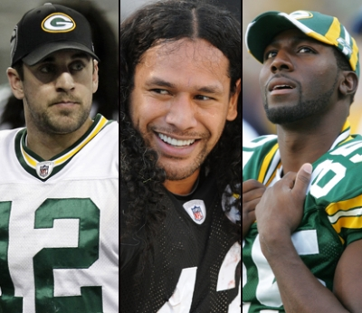 Aaron Rodgers/Troy Polamalu/Greg Jennings
