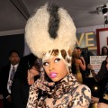 Nicki Minaj arrives at The 53rd Annual Grammy Awards held at Staples Center in LA on February 13, 2011