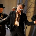 Bob Dylan performs onstage during The 53rd Annual Grammy Awards held at Staples Center in Los Angeles, Calif., on February 13, 2011