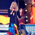 Gwyneth Paltrow performs with Cee Lo Green onstage during The 53rd Annual Grammy Awards held at Staples Center on February 13, 2011 in Los Angeles
