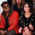 Kanye West and Vanessa Hudgens attend the Jeremy Scott Fall 2011 fashion show during Mercedes-Benz Fashion Week at Milk Studios in NYC, on February 16, 2011