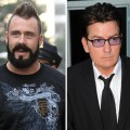 Pitcher Brian Wilson, Charlie Sheen