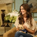 Denise Richards stops by Access Hollywood Live to talk about her work with Best Friends Pet Adoption on February 25, 2011