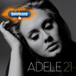 The cover of Adele&#8217;s sophomore album, &#8220;21&#8221;