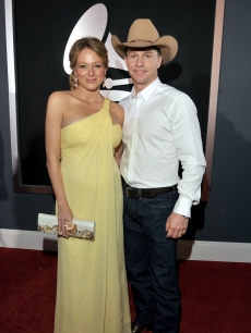 Jewel and Ty Murray arrive at The 53rd Annual Grammy Awards held at Staples Center in Los Angeles on February 13, 2011