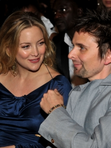 Kate Hudson and Muse rocker Matthew Bellamy attend The 53rd Annual Grammy Awards held at Staples Center on February 13, 2011 in Los Angeles