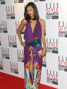 Thandie Newton arrives at the ELLE Style Awards 2011 held at The Grand Connaught Room, London, February 14, 2011