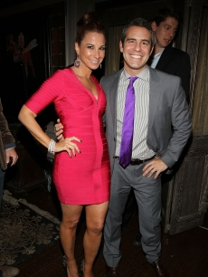 Jilll Zarin and Andy Cohen attend the Skweez Couture Fall 2011 preview at RDV, NYC, February 15, 2011