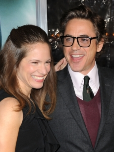 "Susan Downey and Robert Downey Jr. arrive at the Los Angeles premiere of ""Unknown"" at the Mann Village Theater in Westwood, Calif. on February 16, 2011"
