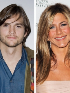 Ashton Kutcher, Jennifer Aniston