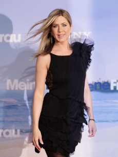"Jennifer Aniston attends the ""Just Go With It"" Germany premiere at CineStar, Berlin, February 21, 2011"