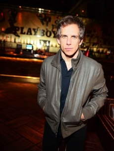 Ben Stiller spotted inside the Palms Casino Resort in Las Vegas on Feburary 22, 2011. After dining at the Nove Italiano restuarant, the star and his friends made their way up to the Playboy Club
