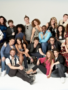 &#8220;American Idol&#8217;s&#8221; Top 24: (top row) Kendra Chantelle, Jovani Barreto, Lauren Turner, Casey Abrams, Tatynisa Wilson, James Durbin, Karen Rodriguez, Jacob Lusk, Lauren Alaina, Thia Megia, Scott McCreery, Brett Loewenstern, Pia Toscano and Jordan Dorsey. (bottom row) Rachel Zevita, Stefano Langone, Paul McDonald, Julie Zorrilla, Tim Halperin, Haley Reinhart, Clint Jun Gamboa, Robbie Rosen, Naima Adedapo and Ashthon Jones 