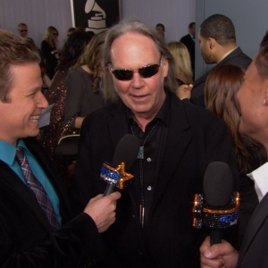2011 Grammy Awards: Does Neil Young Have Bieber Fever?