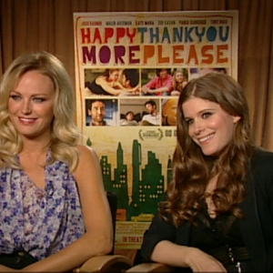 Dish Of Salt: Kate Mara & Malin Ackerman Discuss Their 'Happythankyoumoreplease' Characters