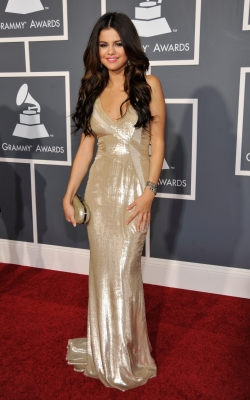 Selena Gomez arrives at The 53rd Annual Grammy Awards held at Staples Center on February 13, 2011 in Los Angeles