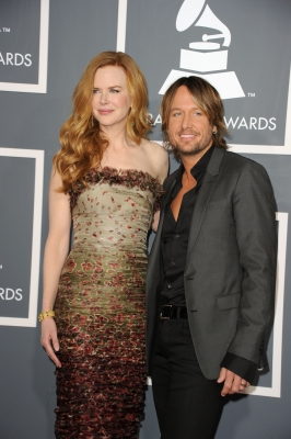 Nicole Kidman and Keith Urban arrive at The 53rd Annual Grammy Awards held at Staples Center on February 13, 2011 in Los Angeles, California