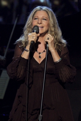 Special honoree Barbra Streisand performs onstage during The 53rd Annual Grammy Awards held at the Staples Center in Los Angeles, Calif., on February 13, 2011