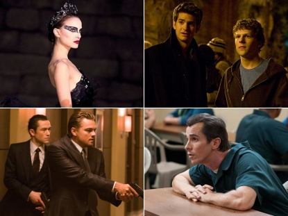 """The Black Swan""/""The Social Network""/""Inception""/""The Fighter"""