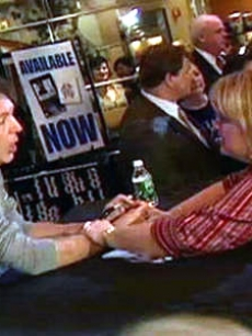 Paul meets his fans in New York City, 2006