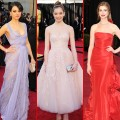 Oscars red carpet: Mila Kunis, Hailee Steinfeld, Anne Hathaway