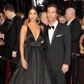 Matthew McConaughey and Camila Alves arrive at the 83rd Annual Academy Awards held at the Kodak Theatre in Hollywood, Calif., on February 27, 2011