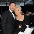 Hugh Jackman and wife Deborra-Lee Furness arrive at the 83rd Annual Academy Awards held at the Kodak Theatre in Hollywood, Calif., on February 27, 2011