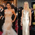 Halle Berry and Gwyneth Paltrow on the 2011 Oscars red carpet