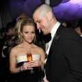 Reese Witherspoon and fiance Jim Toth attend the 2011 Vanity Fair Oscar Party Hosted by Graydon Carter at the Sunset Tower Hotel, West Hollywood, on February 27, 2011