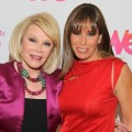"Joan Rivers and Melissa Rivers of ""Joan & Melissa: Joan Knows Best?"" attend the WE tv Winter 2011 TCA Panel at the Langham Hotel in Pasadena, Calif. on January 7, 2011"