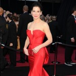 Sandra Bullock looks radiant in red at the 83rd Annual Academy Awards held at the Kodak Theatre in Hollywood, Calif. on February 27, 2011
