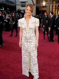 Melissa Leo arrives at the 83rd Annual Academy Awards held at the Kodak Theatre in Hollywood on February 27, 2011
