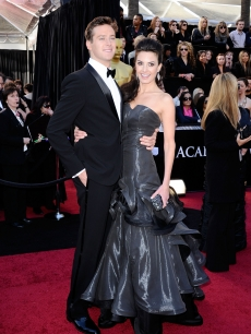 Armie Hammer and Elizabeth Chambers arrive at the 83rd Annual Academy Awards held at the Kodak Theatre in Hollywood, Calif., on February 27, 2011