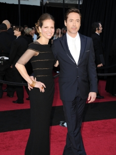 Robert Downey Jr. and wife Susan Downey arrive at the 83rd Annual Academy Awards held at the Kodak Theatre in Hollywood, Calif., on February 27, 2011
