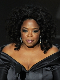 Oprah Winfrey presents Best Documentary onstage during the 83rd Annual Academy Awards in Hollywood, Calif., on February 27, 2011