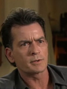 "Charlie Sheen appears in an interview on NBC's the ""Today"" show on February 28, 2011"