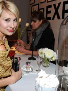 "Chelsea Kane attends ELLE and Express ""25 at 25"" Event held at Palihouse Holloway, West Hollywood, October 7, 2010"