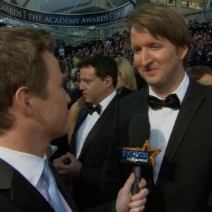 2011 Academy Awards Red Carpet: Tom Hooper Gets The Royal Seal Of Approval For 'The King's Speech'