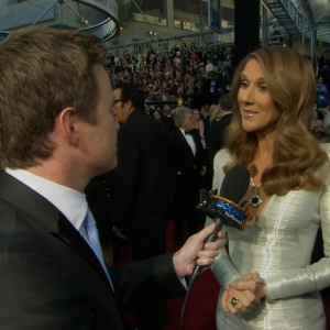 2011 Academy Awards Red Carpet: Celine Dion Brings A 'Smile' To The Oscars