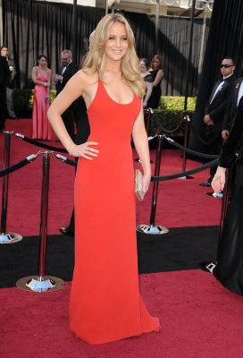 Jennifer Lawrence arrives at the 83rd Annual Academy Awards held at the Kodak Theatre in Hollywood on February 27, 2011