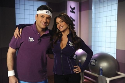 Jimmy K and Sofia Vergara