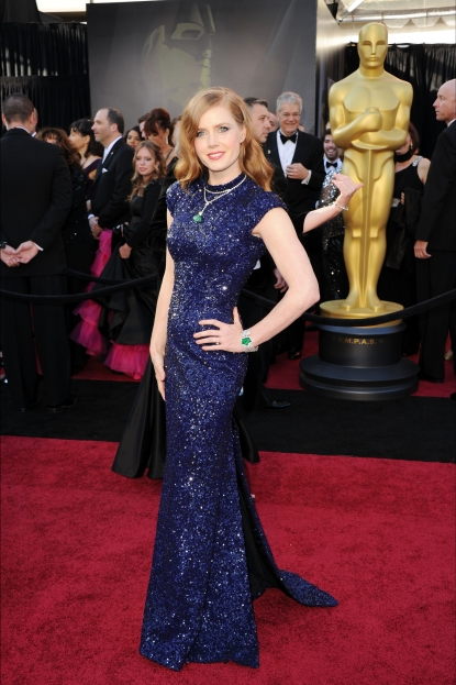 Amy Adams arrives at the 83rd Annual Academy Awards held at the Kodak Theatre in Hollywood on February 27, 2011