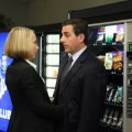 "Amy Ryan and Steve Carell on NBC's ""The Office"""