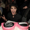 Darren Criss celebrates his birthday at Lavo at the Palazzo in Las Vegas on February 26, 2011
